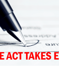 Notice Act Picture Red